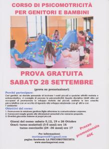 corso di psicomotricità per genitori e bambini insieme, a Bagnolo di Nogarole Rocca (VR)